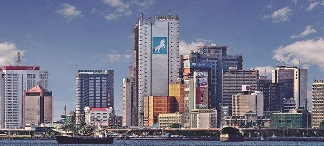 Ville de Lagos (Nigéria)
